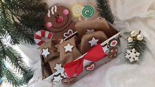 Lebkuchenmann Adventskalender Weihnachtskalender Set Backform Lebkuchen Kekse