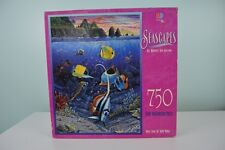 MB Seascapes Puzzle 750 Pieces Voices from the Silent World Fish Ocean SEALED