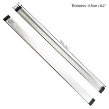 50cm DC 12v LED Under Cabinet Cupboard Lamp Strip Light & UK Plug Home Kitchen Cool White