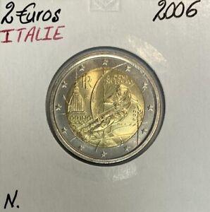 Italie - 2 Euro 2006 - JEUX DE TURIN