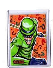 DC Super-Villains Jon Rademacher sketch card