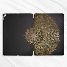 Gold Bohemian Mandala Black Case For iPad Pro 9.7 10.5 11 12.9 Air Mini 2 3 5