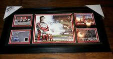 Mounted Memories Kasey Kahne Nascar Racing Signed Photo Frame Limited Edition