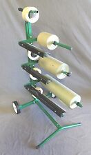 "MASKING MACHINE 3 PLACE HOLDS 6"" 12"" 18"" PAPER 6"" DA ROLL TAPE AUTO PAINT BODY"