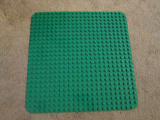Lego DUPLO 2304 Large Green Building Base Plate 15 x 15 inches