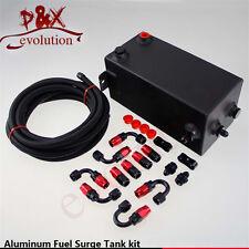 4L drawing polishing Complete Fuel Surge Tank 4 Litre Swirl Pot System kit black