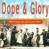 DOPE & GLORY-REEFERSONGS DER 30ER & 40ER JAHRE 2 CD NEUF