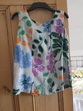Boden ladies silk mix summer top size 12