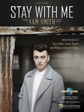 Stay with Me Sheet Music Easy Piano Sam Smith NEW 000146490