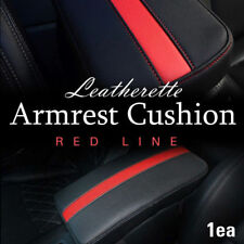 Sports Center Console Line Armrest Cushion Red For HYUNDAI 2011-2014 Sonata i45