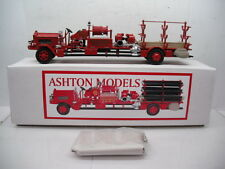 ASHTON MODELS No. 110 1937WHITE SMOKE EJECTOR TRUCK 2 FDNY FIRE DEPT1/43 SCALE