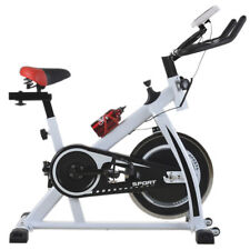 White Cycling Trainer Fitness Exercise Bike Stationary Cardio Home Indoor 508