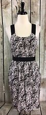 Theory Raiku Granite Grey Pink Conch 6 Dress 100% Silk Pockets Party Lined NWT