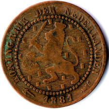 COIN / THE NETHERLANDS / 1 CENT 1881  #WT1905
