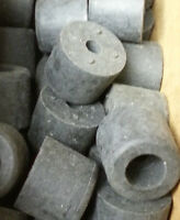 # 2082 Pack of 15 rubber recessed Bumpers  A=5/8, B=1/2, C=1/4, D=1/4, E=5/16,