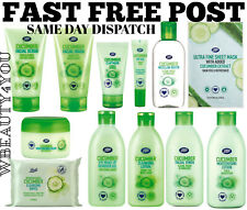 Boots Cucumber Skin Care Products Moisture Gentle Care - FAST DISPATCH FREE POST