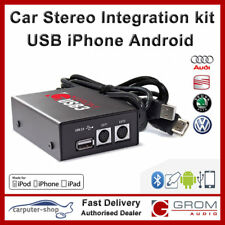 GROM Audio USB3 iPhone Samsung Android kit for AUDI A3 A4 A6 A8 TT SEAT SKODA VW
