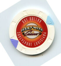 1.00 Casino Chip from the Hollywood Casino Shreveport Louisiana