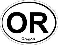 Oval (Oregon); State Bumper Sticker