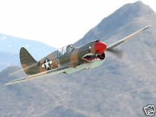 Giant 1/6 Scale American WW-II P-40 Warhawk Plans, Templates, Instructions 82ws