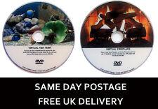 Virtual Fish Tank Aquarium & Virtual Fire Place - 2 DVD Set (Free UK Delivery) *