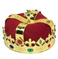 Corona da re lusso travestimento in plastica REALE REGINA 3047Q