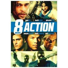 8-Movie Action Pack, Vol. 9 (DVD, 2013, 2-Disc Set) New