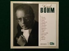 10 CDs BOX , Karl BOHM - MOZART SCHUBERT BEETHOVEN WAGNER STRAUSS VERDI