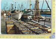 Porto Garibaldi - il porto con pescherecci - 1970
