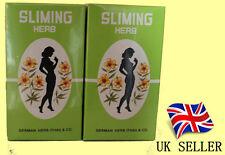 Slimming Erbe Tè perdita di peso Dieta Tè 2 scatole 100 sacchetti da tè