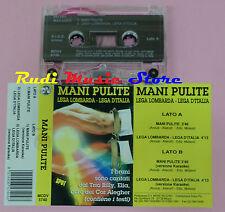 MC MANI PULITE Lega lombarda lega d'italia TRIO BILLY ELIA italy cd lp dvd vhs