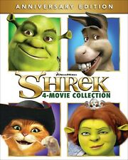 Shrek The 4-movie Collection Blu-ray Mike Myers New