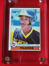 """1979 TOPPS, OZZIE SMITH,  ROOKIE, #116, HOF, FREE SHIPPING, COMES WITH 1"""" HOLDER"""