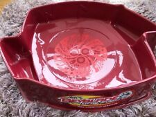 Beyblade Stadium Red Damage To Side taped