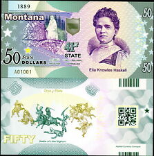 ACC STATE NOTE SERIES: MONTANA POLYMER FANTASY ART BILL - ELLA KNOWLES HASKELL!