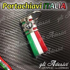 Portachiavi Tricolore Italia Auto ALFA ROMEO BK 147 159 156 BRERA Giulietta Mito