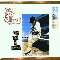 """STEVIE RAY & DOUBLE TROUBLE VAUGHAN """"THE SKY IS CRYING"""" CD NEW"""