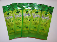 5 Designer Skin APHRODISIAC Dark Intensifier Indoor Tanning Lotion Packets