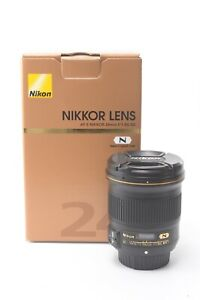 Nikon Nikkor AF-S 24mm f/1.8 G ED Lens - Boxed with Front and Rear Lens Caps