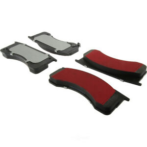 Disc Brake Pad Set-PQ PRO Brake Pads with Shims and Hardware Rear,Front Centric