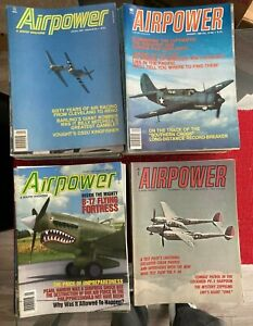 192 AIRPOWER Magazines1973-2007 Excellent Condition Collection No Labels