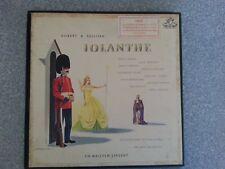 Gilbert & Sullivan Iolanthe Opera 2 LPs Plus Bonus LP