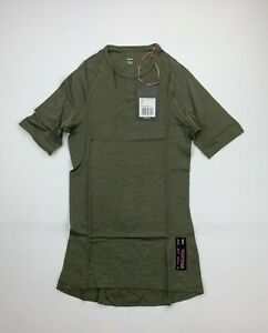 RAPHA Merino Short Sleeve Base Layer Olive Green Size Men's XS New