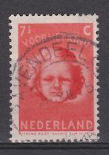 NVPH Netherlands Nederland nr 447 TOP CANCEL s' GRAVENDEEL 1945 kinderzegel