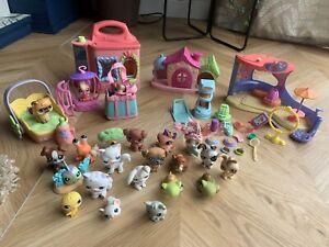 Littlest pet shop Bundle Play set, Figures And Accessories