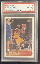 1996-97 Kobe Bryant Topps #138 Rookie PSA 8 NM-MT