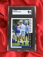 1998 Peyton Manning ROOKIE (RC) Card Score #233, SGC Graded 9 Mint, Colts
