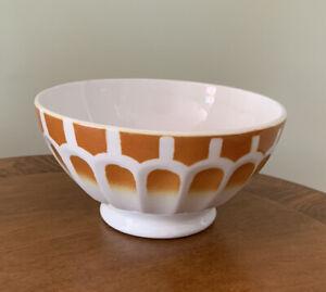 Vintage French cafe au lait bowl