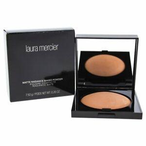NIB Full Size Laura Mercier Matte Radiance Baked Powder Bronze 01 0.26 oz