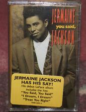 You Said by Jermaine Jackson Tape 1991, LaFace SEALED NEW W/HYPE STICKER MINT